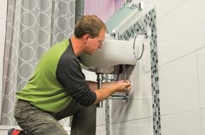 Rekonstrukce koupelny: Jak vyměnit umyvadlo?